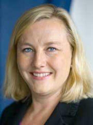 Handelsminister Ewa Björling gläds åt beskedet från EU-kommittén. Foto: Pawel Flato