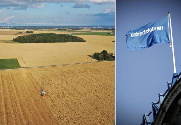 Många lantbrukare har kritiserat Handelsbankens tidigare planer om att lägga ner bankens råvarudesk.