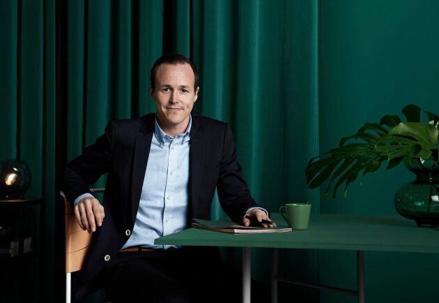 Mattias Munter, pensionsekonom Livförsäkringsbolaget Skandia.