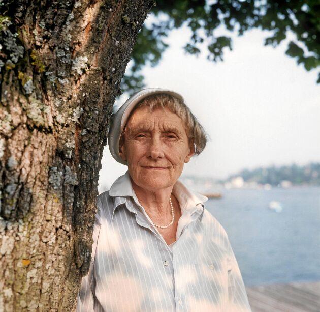 Astrid Lindgren samarbetade med Land i viktiga frågor.