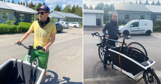 För Gustaf Lindqvist blev lådcykeln inte ett komplement till bilen – den ersatte bilen helt och hållet.