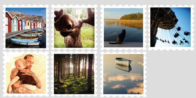 Frankerat och klart! Här är svenska folkets bilder som blir frimärken