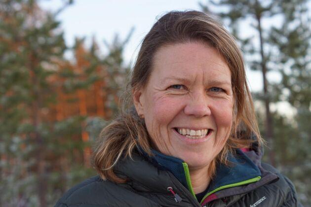 Anette Waara, marknadsområdeschef för Sveaskog i Norrbotten och Västerbotten.