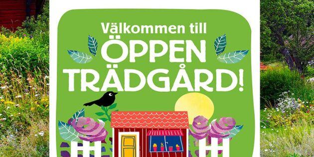 Dags för Öppen Trädgård 2017 – anmäl dig här!