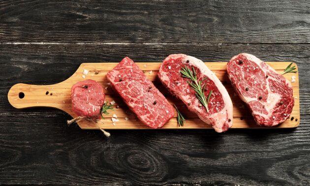 Arkivbild. Coop har hittills bara sålt importerat premiumkött.
