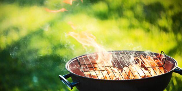 Eldningsförbud - det gäller vid grillning