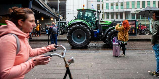 Europeiska bönder går samman i protester