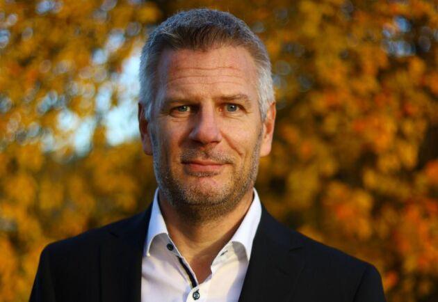 Jan Enbom, projektledare för ombyggnationen av väg 50 på Trafikverket.