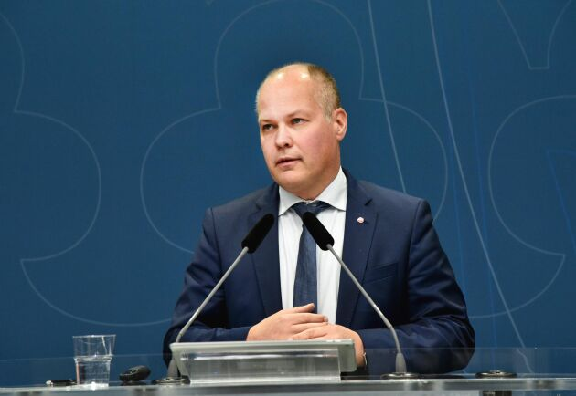 Justitieminister Morgan Johansson (S) har mycket att göra.