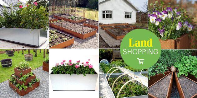 Äntligen egen köksträdgård! Odlingslådor för alla trädgårdar