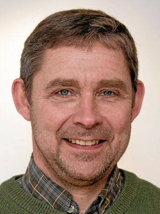 Skogskonsulent Magnus Bondesson är verksam i nordöstra Skåne.