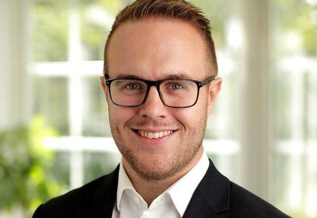 Joel Andersson, projektansvarig inom kompetensförsörjning på Livsmedelsföretagen.