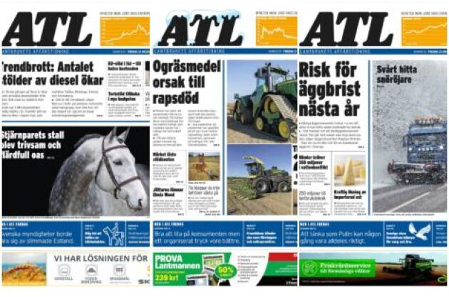 På tisdag 8 januari kommer årets första ATL.