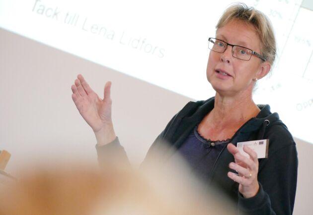 """""""Digital teknik inte ersätter djuröga och det ersätter inte åtgärder"""", säger Lotta Berg, professor på SLU."""