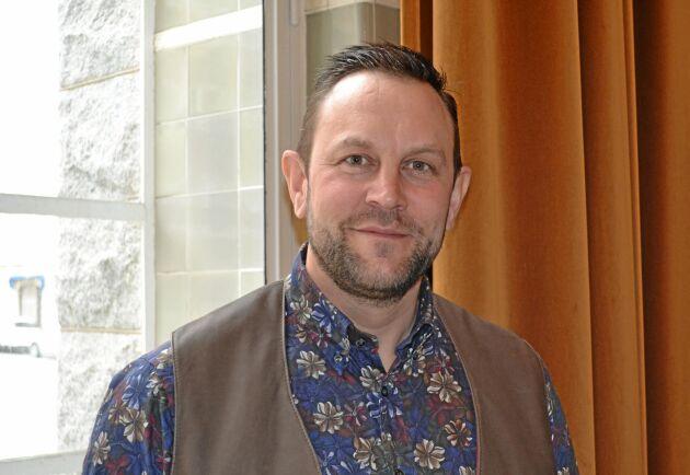 Elof Nilsson, vice ordförande Svenska Fåravelsförbundet.