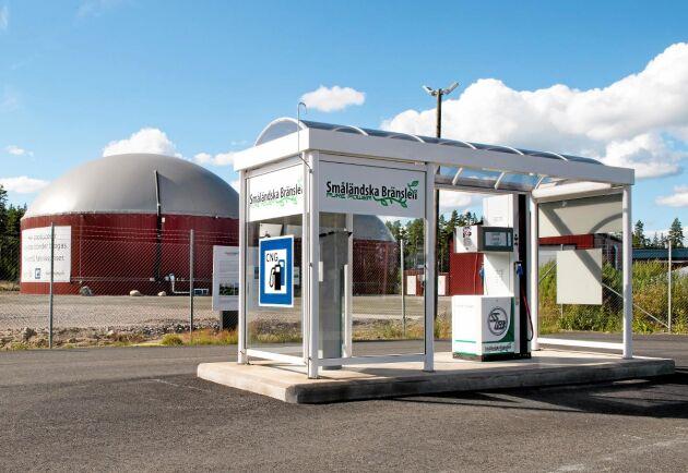 I fjol producerades biogas på 280 anläggningar i Sverige.