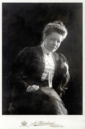 Nobelpristagaren Selma Lagerlöf.