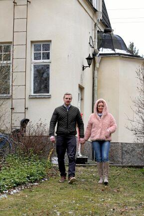 Renoveringen av villan utanför Eskilstuna har varit en hjälp i krisen.