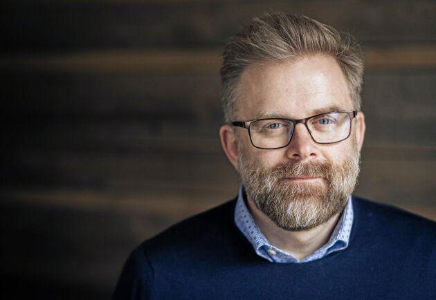 Fredrik Gustavsson, Oatlys produktionschef i Europa.