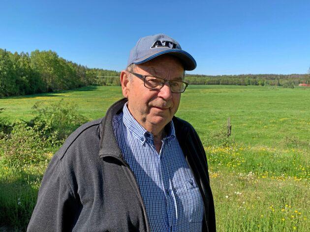 Erik Johansson, 83, deltar i Teknikutmaningen.