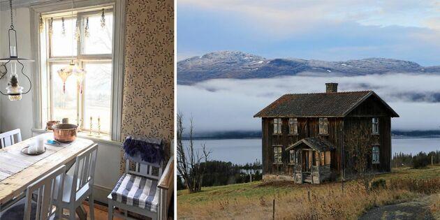 Susanne och Bengt tog sig an jämtländska ödehuset – där ingen bott på 100 år