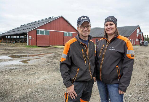 Anna-Lena Nilsson och Olof Nilsson är nöjda med funktionen i tillbyggnaderna. Allt har fungerat bra.