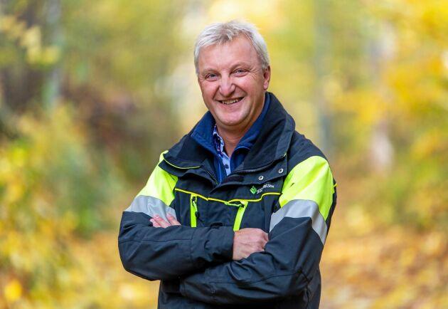 """""""Skogsstyrelsens foderprognos för länet pekar nedåt"""", säger Hans Haraldsson."""