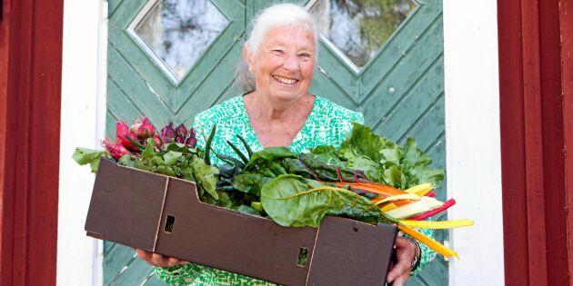 Kerstins unika metod –äter bara mat som produceras fem mil från gården