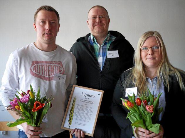 Mellersta Ådalen blev årets lokalavdelning för andra året i rad. Dessutom var avdelningen den flitigaste motionären på årets stämma.