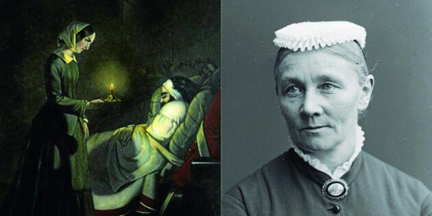 Småländska Emmy blev Sveriges första sjuksköterska - och Florence Nightingales favorit