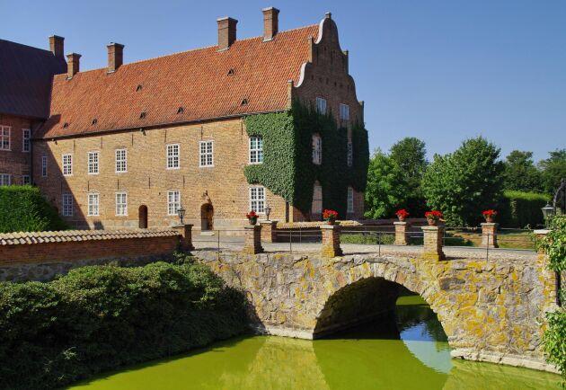 Trolle Ljungbys slott som ligger nära Kristianstad. Arkivbild.