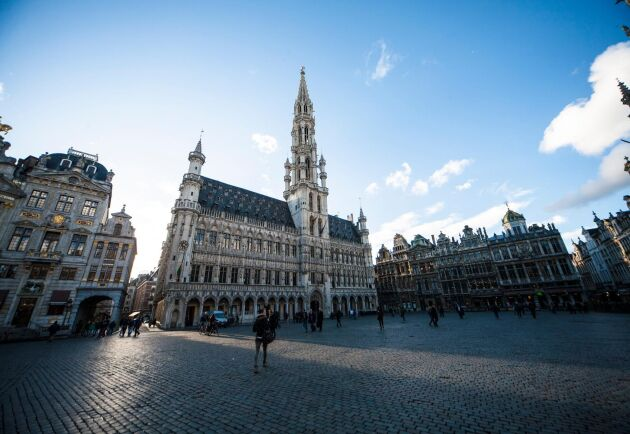 Belgiens huvudstad är också en egen region med ganska stor självständighet.