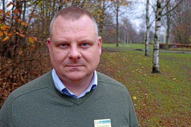 Carl-Fredrik Svederberg, vice ordförande i Sveriges Jordbruksarrendatorer.