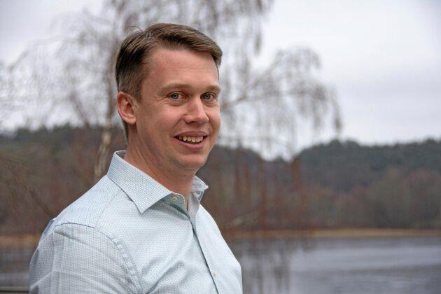 Pontus Larsson, virkeschef på Skogssällskapet.