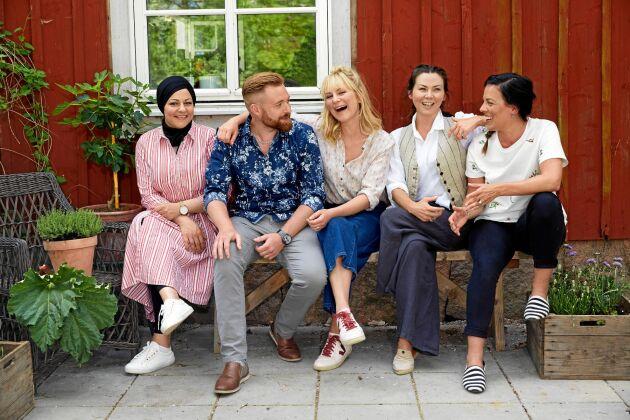 Tillsammans med Zeina Mourtada, Sandra Mastio, Jimmy Brorsson och Emma Lindquist ska Lisa Lemke lära oss laga mat.