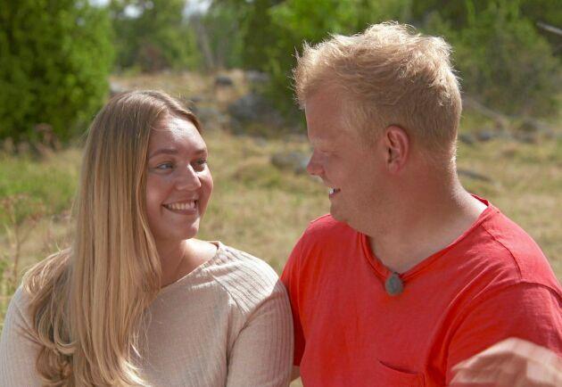 Skogsbonden Per fick sin Sofie i årets säsong av Bonde söker fru 2018.