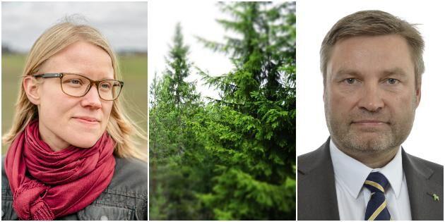 """""""Dags för ordning och reda i skogspolitiken"""""""