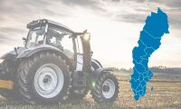 Så många traktorer registrerades i ditt län