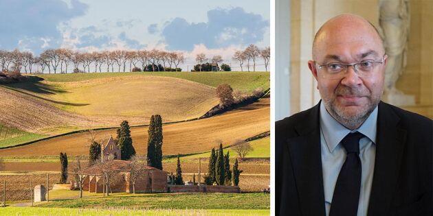 Frankrike säger nej till minskad jordbruksbudget