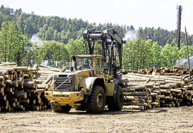 Den svenska skogsindustrin ger skatteintäkter som motsvarar 35 000 offentliganställda per år, visar en sammanställning av branschens egen organisation. Arkivbild.