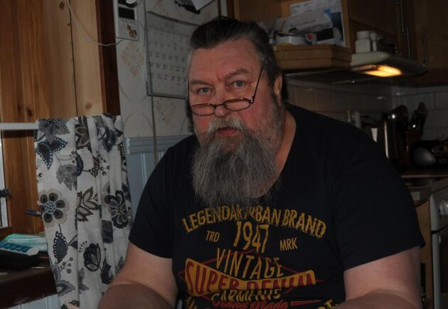"""""""Dystert"""", kommenterar Gunnar Johansson, tidigare ordförande för Kalix koncessionssameby, LRF:s nya krav på ändrad beteshållning av renarna."""