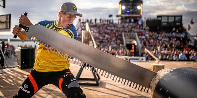 Svan blir Sveriges deltagare i VM i Timbersports