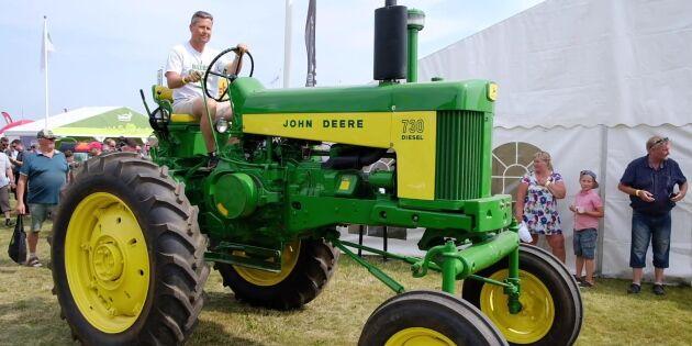 ATL TV: Traktorparad med grön lyster