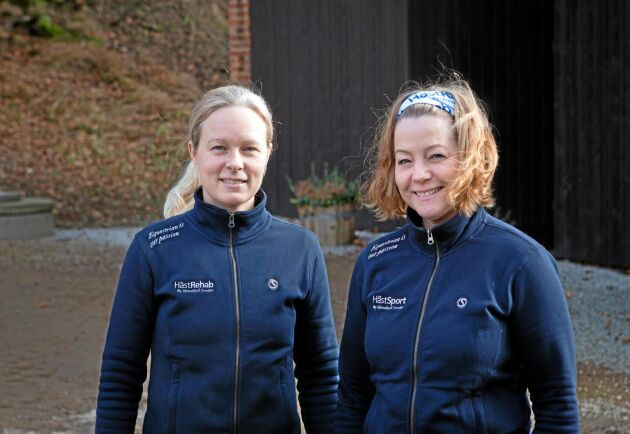 Jessica Pilenberg, till vänster, och Susanne Nord jobbar båda med att utveckla Skönabäck.