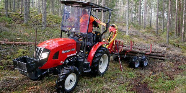 Minitraktorn blev succé när ATV:n inte höll måttet