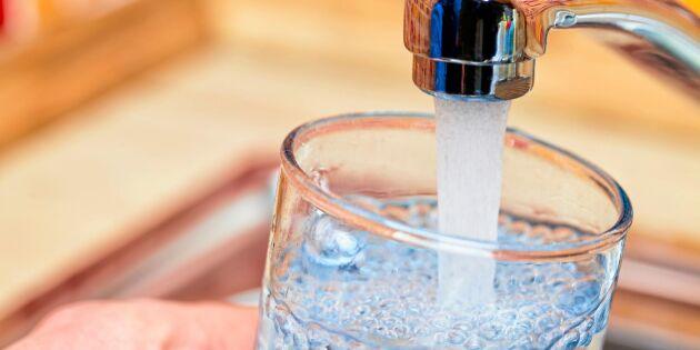 Därför måste du spara på vattnet –även när regnet kommer