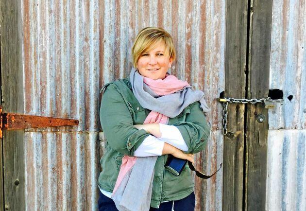 Samantha Townsend, journalist och lantbrukare i Australien, är en av många torkdrabbade i landets östra delar.