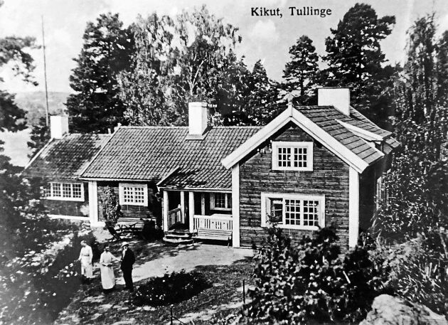 Alice Tegnér flyttade sedermera till villa Kikut i Tullinge. Huset står kvar än i dag.