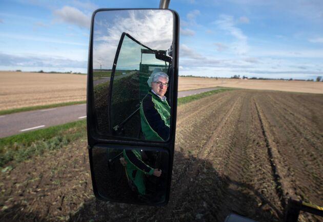 I backspegeln kan Ebbe Persson se att torkåret 2018 blev hans sämsta år någonsin som lantbrukare.