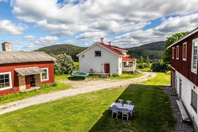 Familjen föll direkt för gården i Ljustorp, i Medelpad, när den blev till salu.